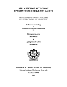 manets thesis Thapar institute of engineering & technology combines experience with new-age implementation subscribe to our newsletter.