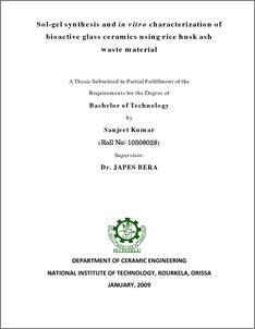 phd thesis nit rourkela