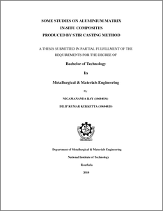 phd thesis on metal matrix composites Mechanics of thin carbon ber composites with a silicone matrix thesis by  of my phd i am particularly  ditional composites with epoxy matrix is the fact that .