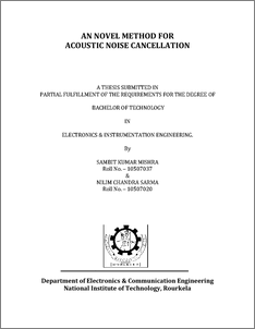 acoustic feedback thesis