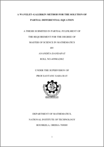 thesis on differential equations