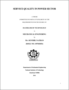 thesis on power quality issues