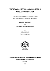 thesis on channel coding Simulation of third generation cdma systems by fakhrul alam thesis submitted to the faculty of the channel coding 281 error detection.