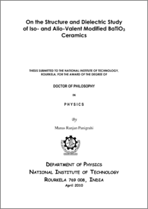 thesis on piezoelectric materials My work has focused on the application of concepts and methods from the science of materials, thermal sciences, fluid and solid mechanics.