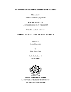 thesis on pyrazole