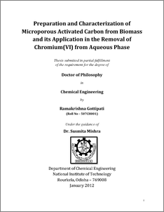 Phd thesis on adsorption