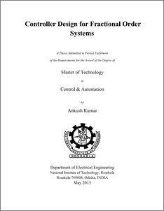 Fractional order controller thesis