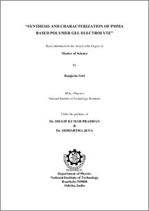 nitrkl thesis