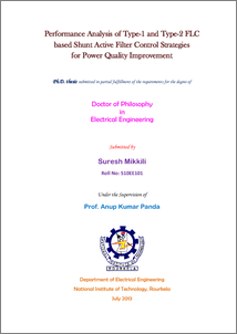 Phd thesis on power quality improvement