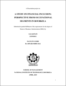 thesis on financial inclusion in india Research paper on financial inclusion - free download as pdf file (pdf) he extent of financial inclusion in india can be well studied from the analysis of the.
