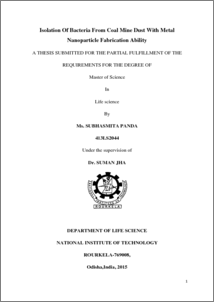 silver nanoparticle synthesis thesis