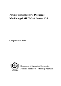 phd thesis on electrical discharge machining Keywords: electrical discharge machining, edm, plasma, spark, discharge, non-idealplasma,opticalemissionspectroscopy,spectroscopy,imaging,breakdown,dielectric.