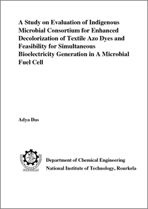 Dye degradation thesis